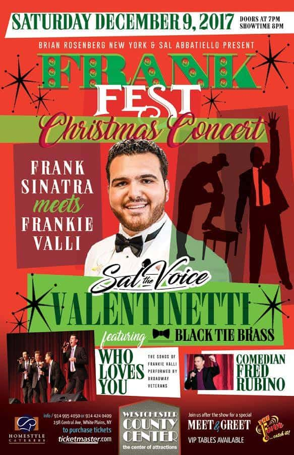 SAL THE VOICE @ FRANK FEST CHRISTMAS CONCERT 2017