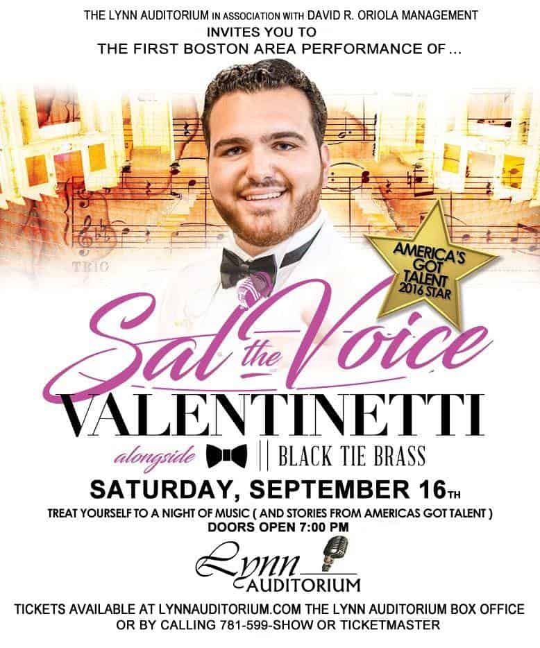 SAL THE VOICE @ LYNN AUDITORIUM 2017