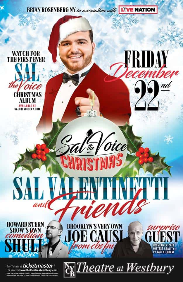 SAL THE VOICE @ NYCB WESTBURY 2017