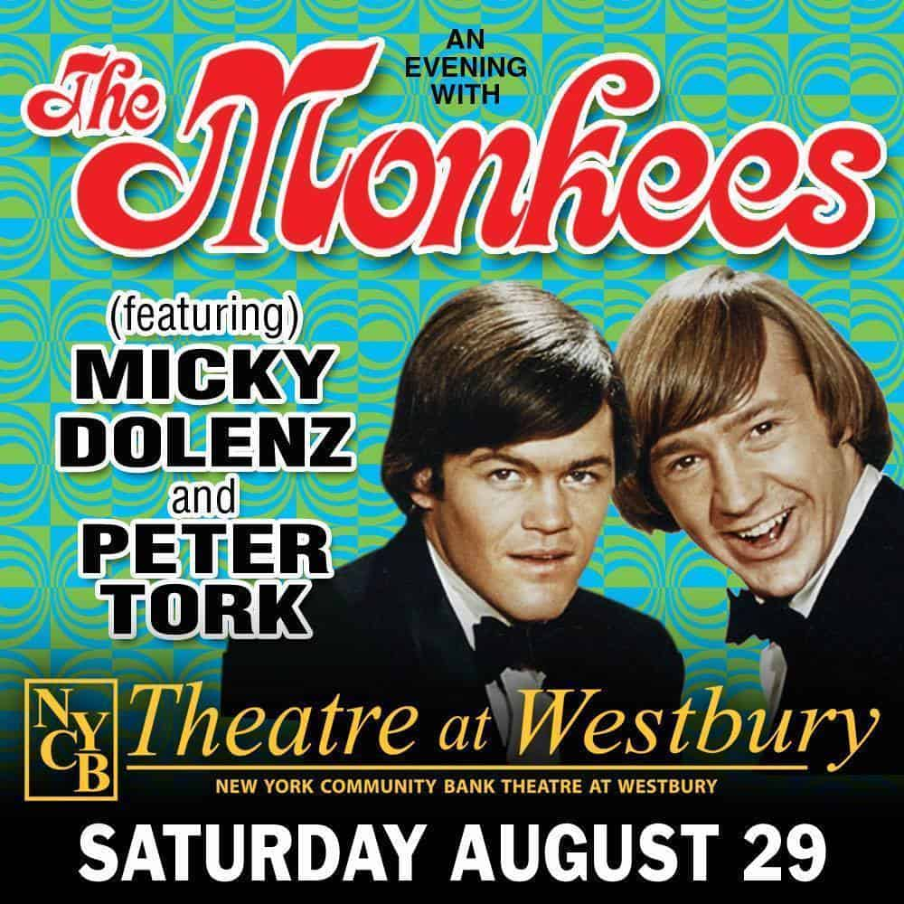 TH MONKEES @ NYCB WESTBURY 2015